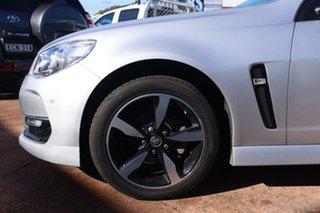 2016 Holden Commodore Vfii MY16 SV6 Black Edition Grey 6 Speed Automatic Sedan.