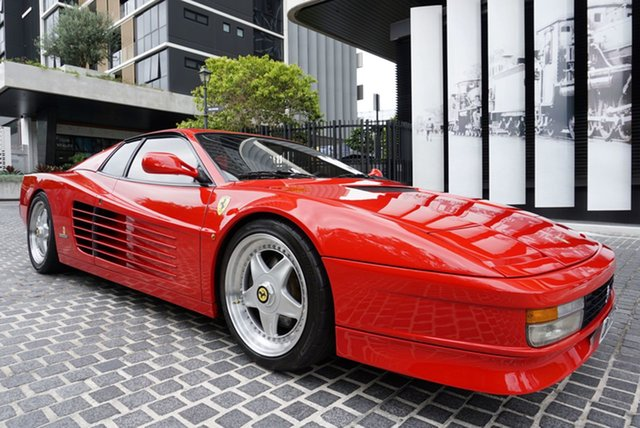 Used Ferrari Testarossa East Brisbane, 1997 Ferrari Testarossa Rosso Corsa 5 Speed Manual Coupe