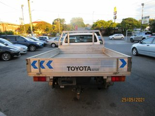 2009 Toyota Hilux TGN16R 09 Upgrade Workmate White 5 Speed Manual Cab Chassis