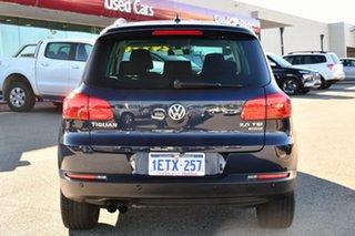 2015 Volkswagen Tiguan 5N MY15 132TSI DSG 4MOTION Blue 7 Speed Sports Automatic Dual Clutch Wagon