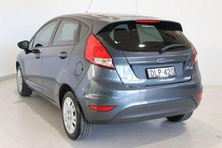 2014 Ford Fiesta WZ MY15 Ambiente PwrShift Grey 6 Speed Sports Automatic Dual Clutch Hatchback.
