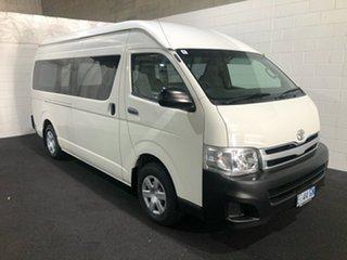 2011 Toyota HiAce KDH221R MY11 Super LWB White 4 Speed Automatic Van.