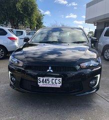 2017 Mitsubishi Lancer CF MY17 Black Edition Black 6 Speed Constant Variable Sedan.