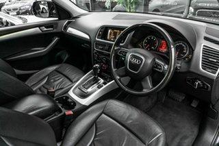 2010 Audi Q5 8R MY10 TFSI S Tronic Quattro Black 7 Speed Sports Automatic Dual Clutch Wagon