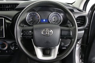 2015 Toyota Hilux GUN126R SR (4x4) Silver 6 Speed Manual Dual Cab Chassis