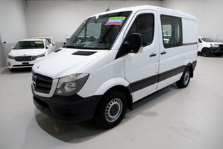 2015 Mercedes-Benz Sprinter NCV3 313CDI Low Roof SWB 7G-Tronic White 7 Speed Sports Automatic Van.