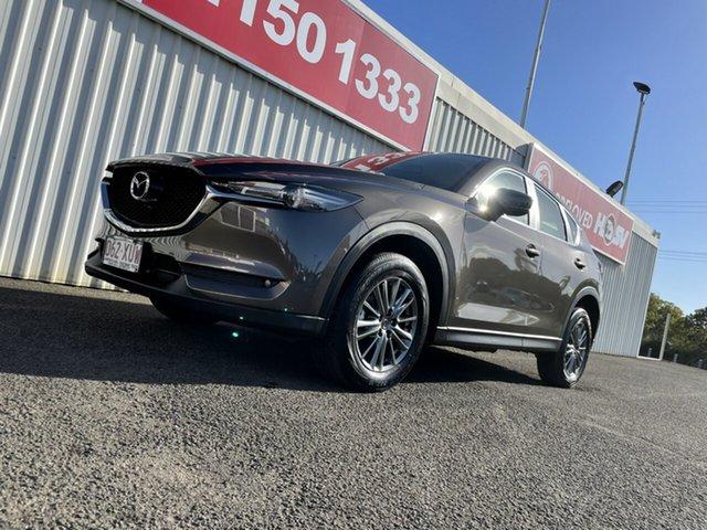 Used Mazda CX-5 KF2W7A Maxx SKYACTIV-Drive FWD Sport Bundaberg, 2017 Mazda CX-5 KF2W7A Maxx SKYACTIV-Drive FWD Sport Bronze 6 Speed Sports Automatic Wagon