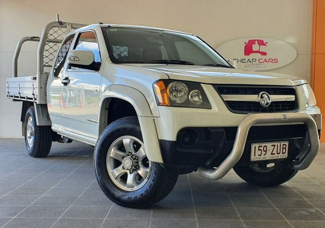 Used Holden Colorado RC MY09 LX 4x2 Brendale, 2009 Holden Colorado RC MY09 LX 4x2 White 4 Speed Automatic Cab Chassis