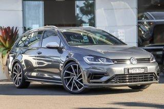 2018 Volkswagen Golf 7.5 MY18 R DSG 4MOTION Grey 7 Speed Sports Automatic Dual Clutch Wagon.
