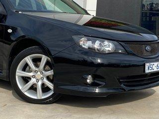 2008 Subaru Impreza G3 MY09 RS AWD Black 4 Speed Sports Automatic Sedan
