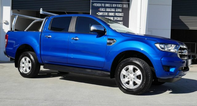 Used Ford Ranger PX MkIII 2019.75MY XLT Capalaba, 2019 Ford Ranger PX MkIII 2019.75MY XLT Blue 6 Speed Sports Automatic Double Cab Pick Up