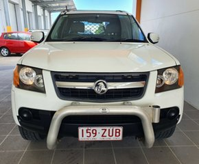 2009 Holden Colorado RC MY09 LX 4x2 White 4 Speed Automatic Cab Chassis