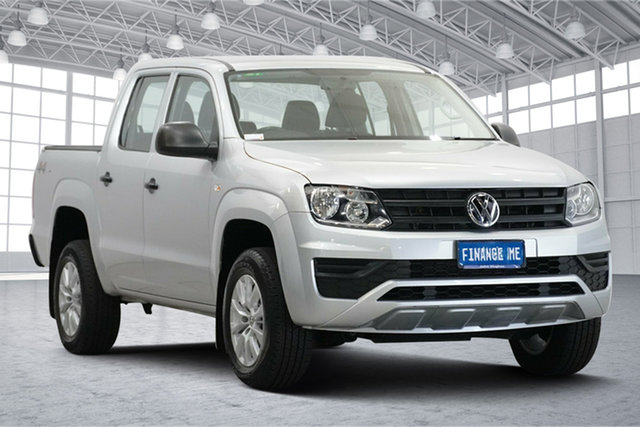 Used Volkswagen Amarok 2H MY18 TDI420 4MOTION Perm Core Victoria Park, 2018 Volkswagen Amarok 2H MY18 TDI420 4MOTION Perm Core Silver 8 Speed Automatic Utility