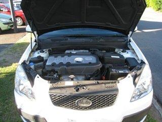 2006 Kia Rio JB EX White 4 Speed Automatic Sedan