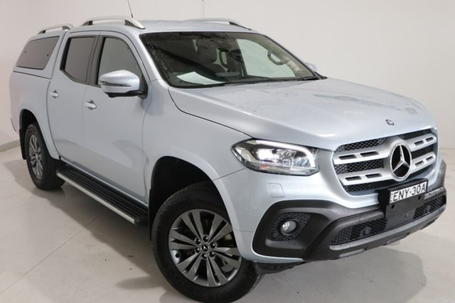 Used Mercedes-Benz X-Class 470 X250d 4MATIC Progressive Wagga Wagga, 2018 Mercedes-Benz X-Class 470 X250d 4MATIC Progressive Silver 7 Speed Sports Automatic Utility