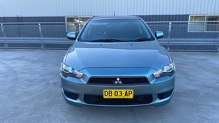 2009 Mitsubishi Lancer CJ MY09 ES Sportback Blue 6 Speed Constant Variable Hatchback