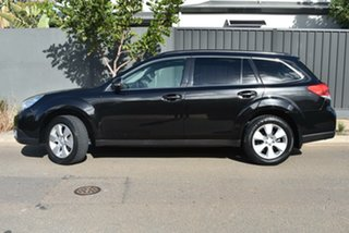 2009 Subaru Outback B5A MY10 2.5i AWD Premium Black 6 Speed Manual Wagon.