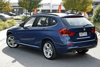 2014 BMW X1 E84 LCI MY1113 sDrive20i Blue 6 Speed Manual Wagon