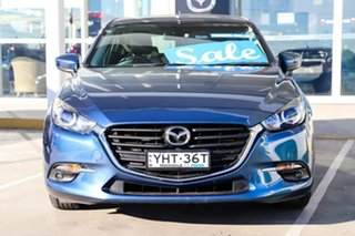 2018 Mazda 3 BN5476 Maxx SKYACTIV-MT Sport Blue 6 Speed Manual Hatchback