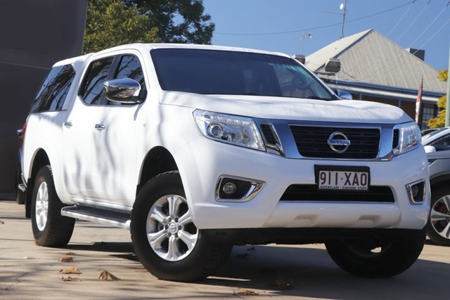 Used Nissan Navara D23 S2 ST Toowoomba, 2017 Nissan Navara D23 S2 ST White 6 Speed Manual Utility