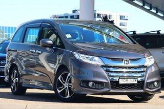 2015 Honda Odyssey RC MY16 VTi-L Grey Continuous Variable Wagon.