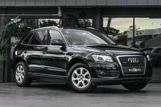 2010 Audi Q5 8R MY10 TFSI S Tronic Quattro Black 7 Speed Sports Automatic Dual Clutch Wagon.