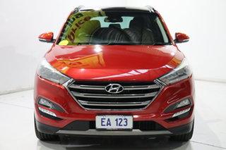 2016 Hyundai Tucson TLE Highlander D-CT AWD Red 7 Speed Sports Automatic Dual Clutch Wagon.