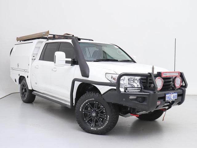 Used Toyota Landcruiser VDJ200R MY13 GXL (4x4), 2015 Toyota Landcruiser VDJ200R MY13 GXL (4x4) White 6 Speed Automatic Wagon