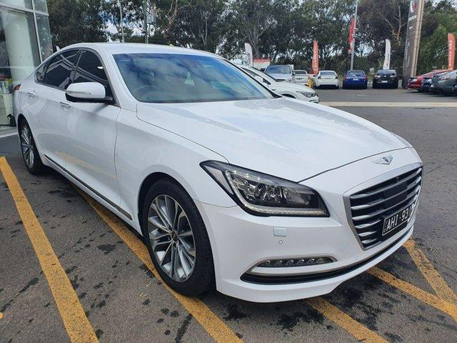 Used Hyundai Genesis DH Sensory Pack Epsom, 2015 Hyundai Genesis DH Sensory Pack White 8 Speed Sports Automatic Sedan