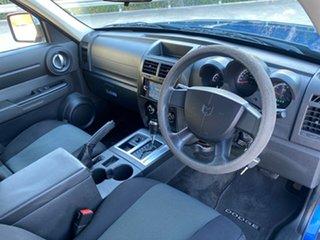 2009 Dodge Nitro KA MY08 SX Blue 4 Speed Automatic Wagon