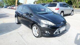 2012 Ford Fiesta WT Zetec PwrShift Black 6 Speed Sports Automatic Dual Clutch Hatchback.