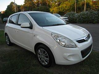 2012 Hyundai i20 PB MY12.5 Active White 4 Speed Automatic Hatchback