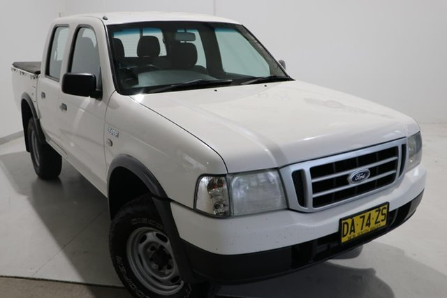 Used Ford Courier PH (Upgrade) GL Crew Cab 4x2 Wagga Wagga, 2006 Ford Courier PH (Upgrade) GL Crew Cab 4x2 White 5 Speed Manual Utility