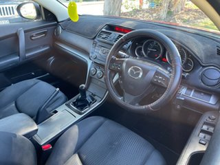 2010 Mazda 6 GH1051 MY09 Classic Maroon 6 Speed Manual Hatchback