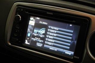 2011 Toyota Yaris NCP131R ZR Silver 5 Speed Manual Hatchback