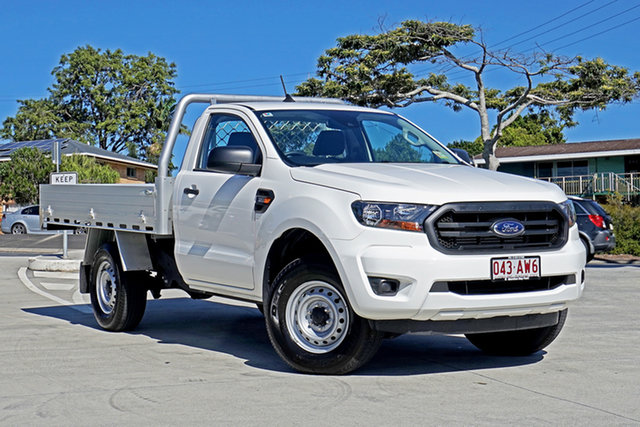 Used Ford Ranger PX MkIII 2021.25MY XL Capalaba, 2020 Ford Ranger PX MkIII 2021.25MY XL White 6 Speed Manual Single Cab Chassis