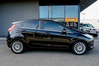 2016 Ford Fiesta WZ Sport Black 5 Speed Manual Hatchback.