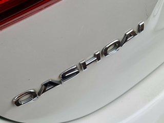 2016 Nissan Qashqai J11 TI White 1 Speed Constant Variable Wagon