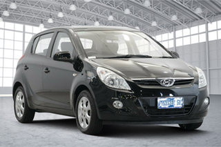 2010 Hyundai i20 PB Elite Black Diamond 4 Speed Automatic Hatchback.