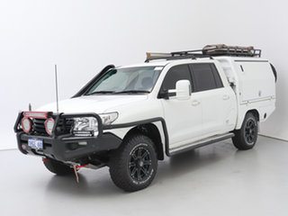 2015 Toyota Landcruiser VDJ200R MY13 GXL (4x4) White 6 Speed Automatic Wagon.