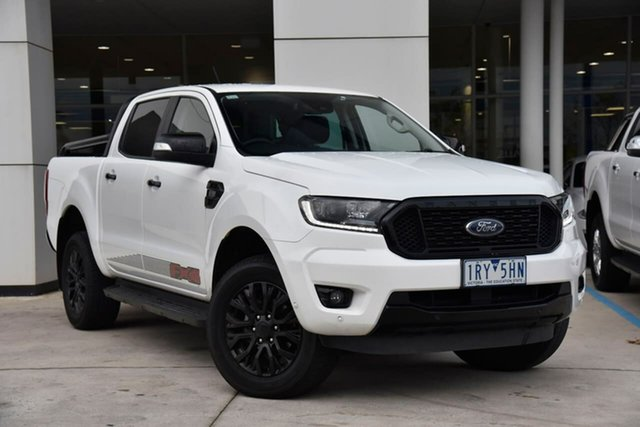 Used Ford Ranger PX MkIII 2020.25MY FX4 Oakleigh, 2020 Ford Ranger PX MkIII 2020.25MY FX4 White 6 Speed Sports Automatic Double Cab Pick Up