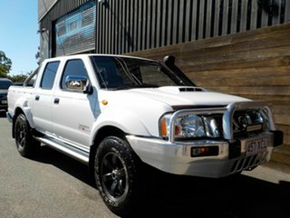 2011 Nissan Navara D22 S5 ST-R White 5 Speed Manual Utility.