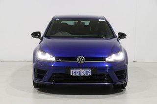 2015 Volkswagen Golf AU MY16 R Blue 6 Speed Direct Shift Hatchback.