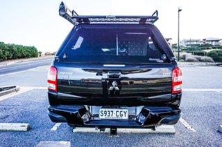 2018 Mitsubishi Triton MQ MY18 Blackline Double Cab Black 5 Speed Sports Automatic Utility