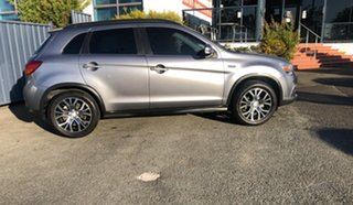 2016 Mitsubishi ASX XC MY17 XLS 2WD Charcoal 6 Speed Constant Variable Wagon.