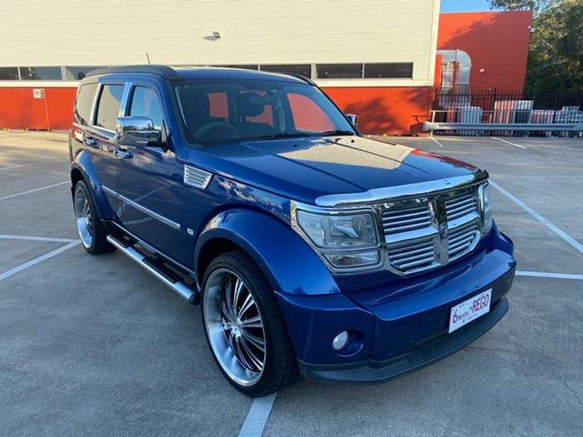 Used Dodge Nitro KA MY08 SX Morayfield, 2009 Dodge Nitro KA MY08 SX Blue 4 Speed Automatic Wagon