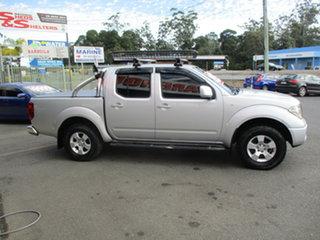 2010 Nissan Navara D40 ST (4x4) Silver 6 Speed Manual Dual Cab Pick-up.