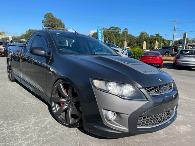 Used Ford Performance Vehicles Super Pursuit FG Gympie, 2010 Ford Performance Vehicles Super Pursuit FG Grey 6 Speed Sports Automatic Utility