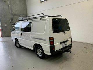 2013 Mitsubishi Express SJ MY13 MWB White 5 Speed Manual Van.