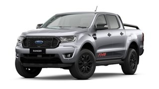 2021 Ford Ranger PX MkIII MY21.25 FX4 2.0 (4x4) Aluminium Silver 10 Speed Automatic.
